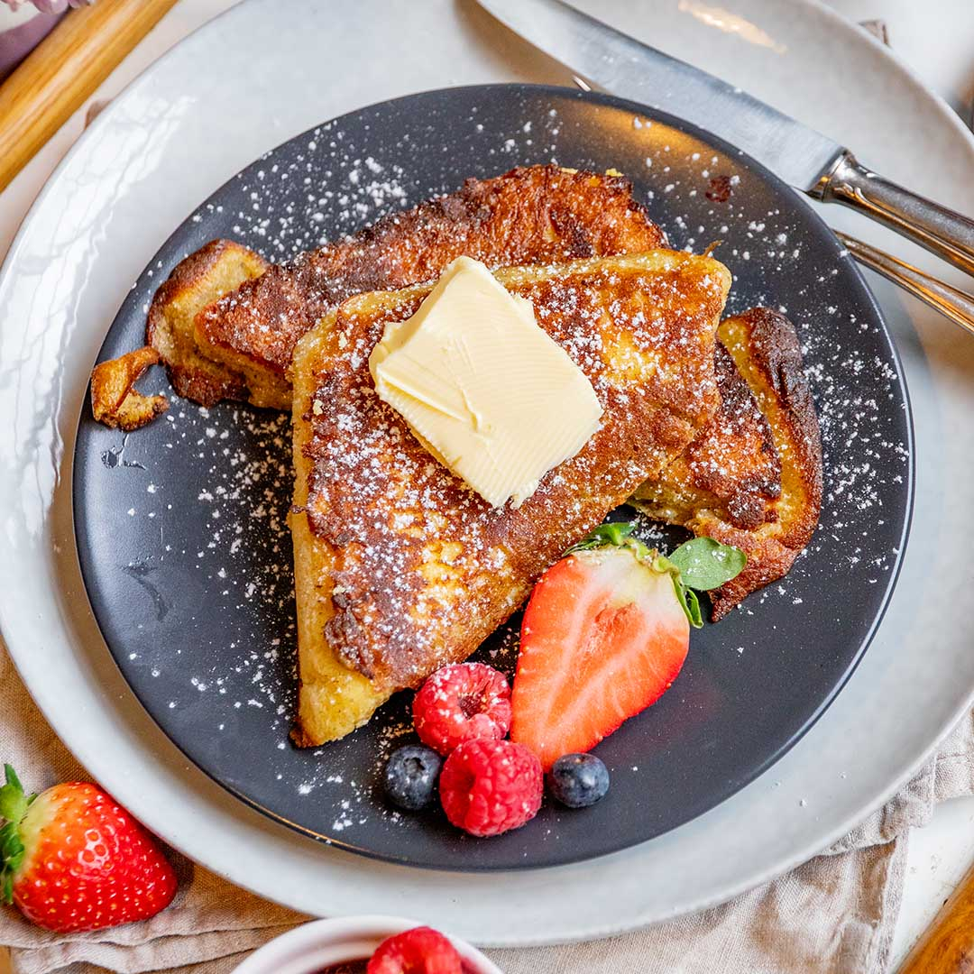 Low-Carb & Keto French Toast OHNE Brot