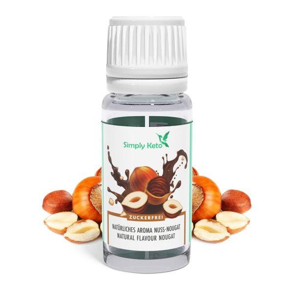 Natürliches NUSS-NOUGAT Aroma Zuckerfrei