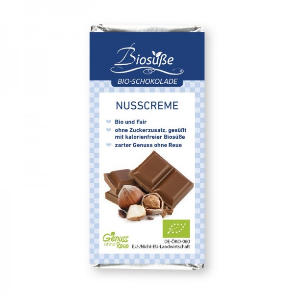 Bio-Schokolade | Nusscrème