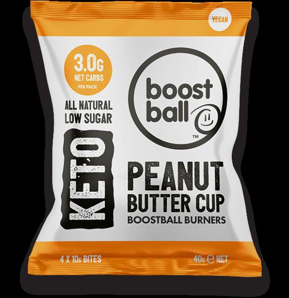 Peanut Butter Cup Keto Balls