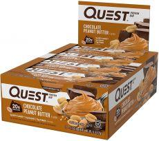 Chocolate Peanut Butter Proteinriegel | MAXIPACK mit 12 Stück