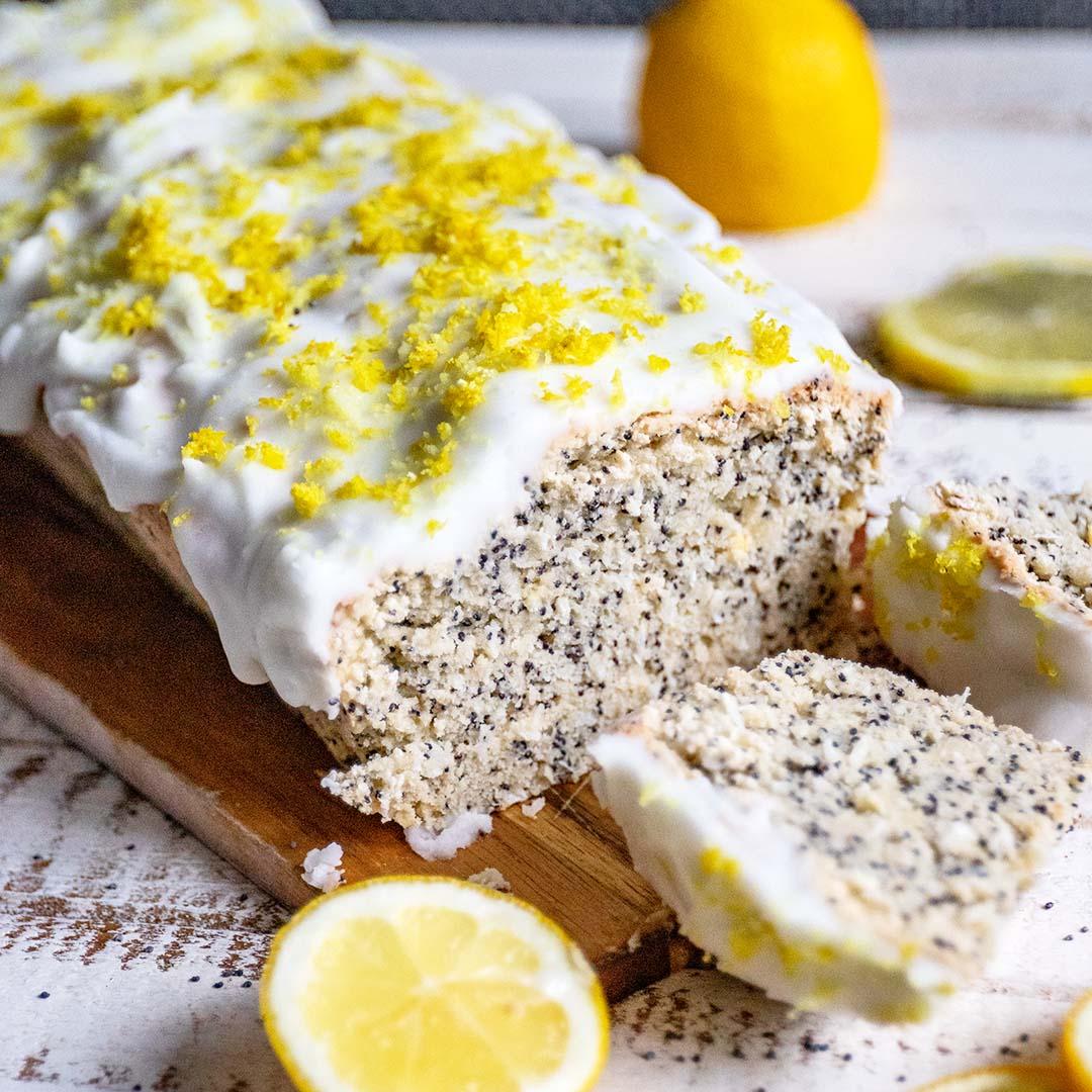 Einfacher Low-Carb & Keto Mohnkuchen