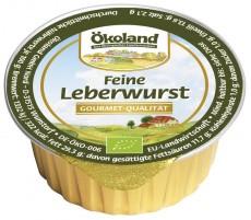 feine Leberwurst 50g Snack   Bio
