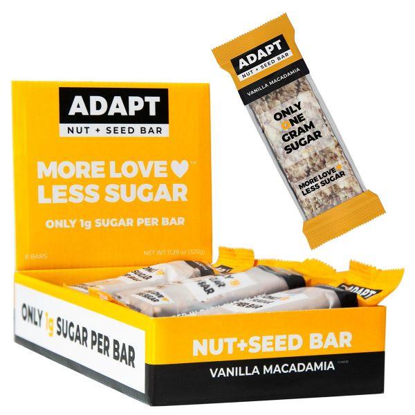 Vanilla Macadamia Nut + Seed Bar | MAXIPACK mit 8 Stück