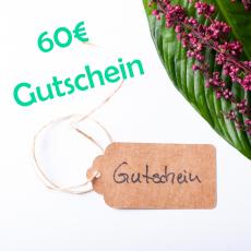 Gutschein für 60€