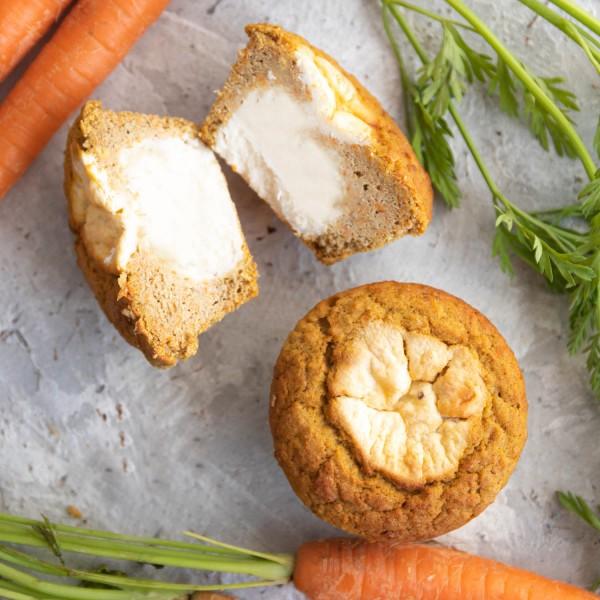Muffins 2er Pack | Rüblikuchen Cheesecake