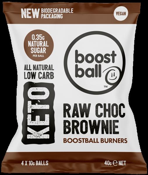 Raw Chocolate Brownie Keto Balls