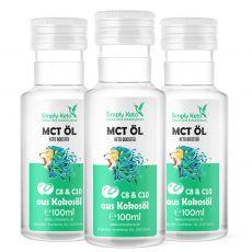MCT-Öl 3x 100ml | VORTEILSPACK