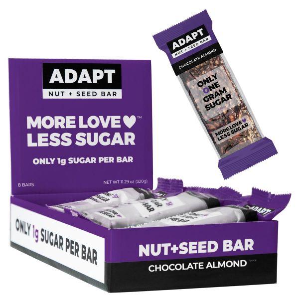 Chocolate Almond Nut + Seed Bar   MAXIPACK mit 8 Stück