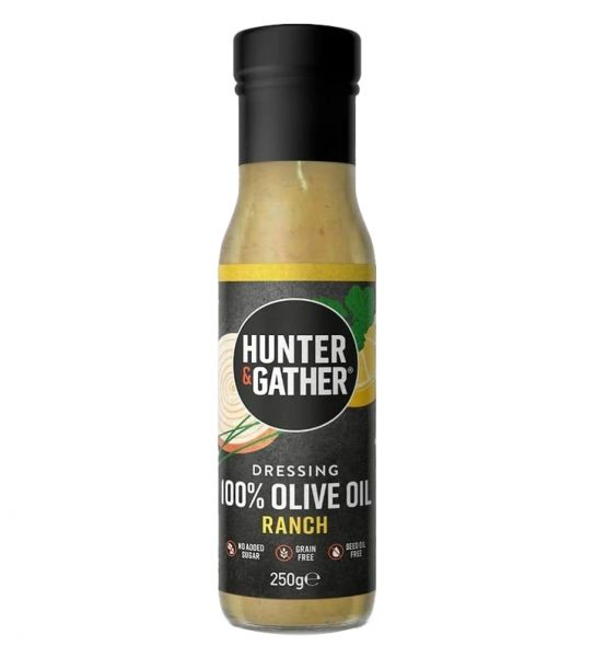 Ranch Salat Dressing mit Oliven-Öl
