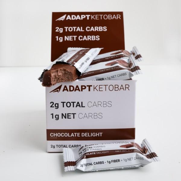 Chocolate Delight Keto Bar   MAXIPACK mit 15 Stück