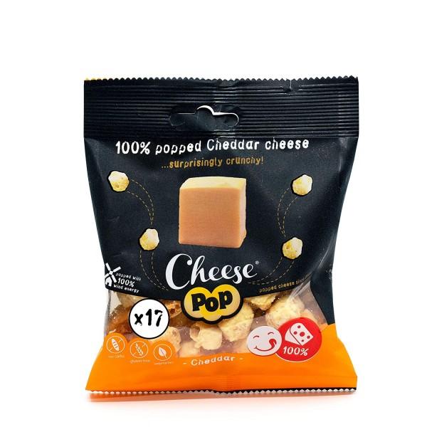 White Cheddar Pops Käse Snack 20g