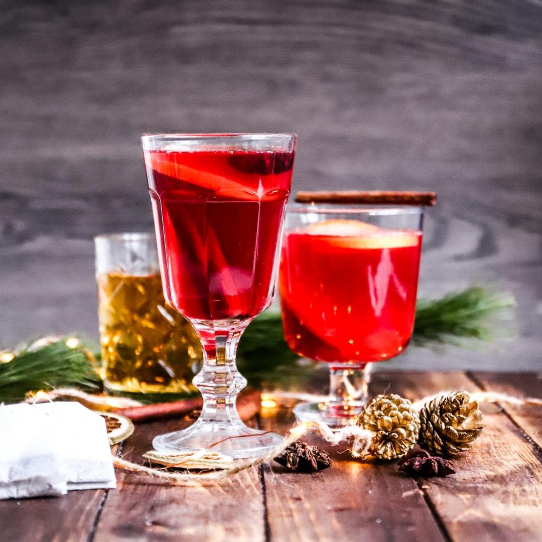 Märchenhafter Low-Carb & Keto Weihnachtspunsch (alkoholfrei)