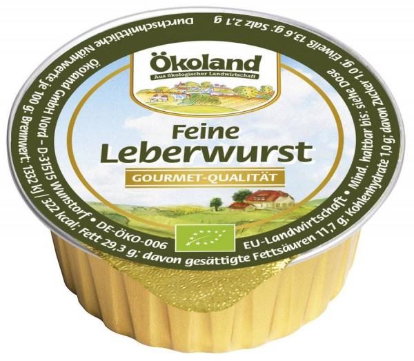 feine Leberwurst 50g Snack | Bio