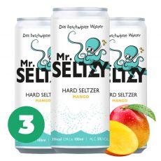 3er Set Mango   Spritziger Apfelwein   Zuckerfreier Hard Seltzer