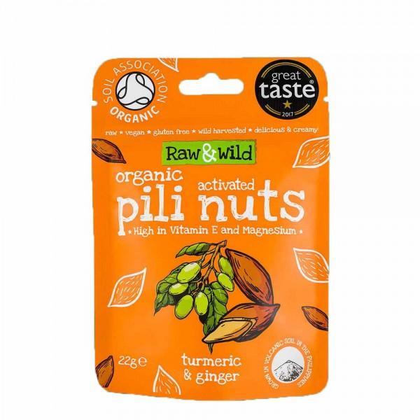 Pili Nüsse Kurkuma & Ingwer (Snack Pack) | Bio