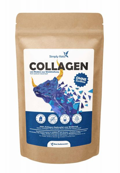 Collagen Protein Pulver   Weidehaltung