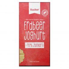 Erdbeer-Joghurt Schokolade | Xylit
