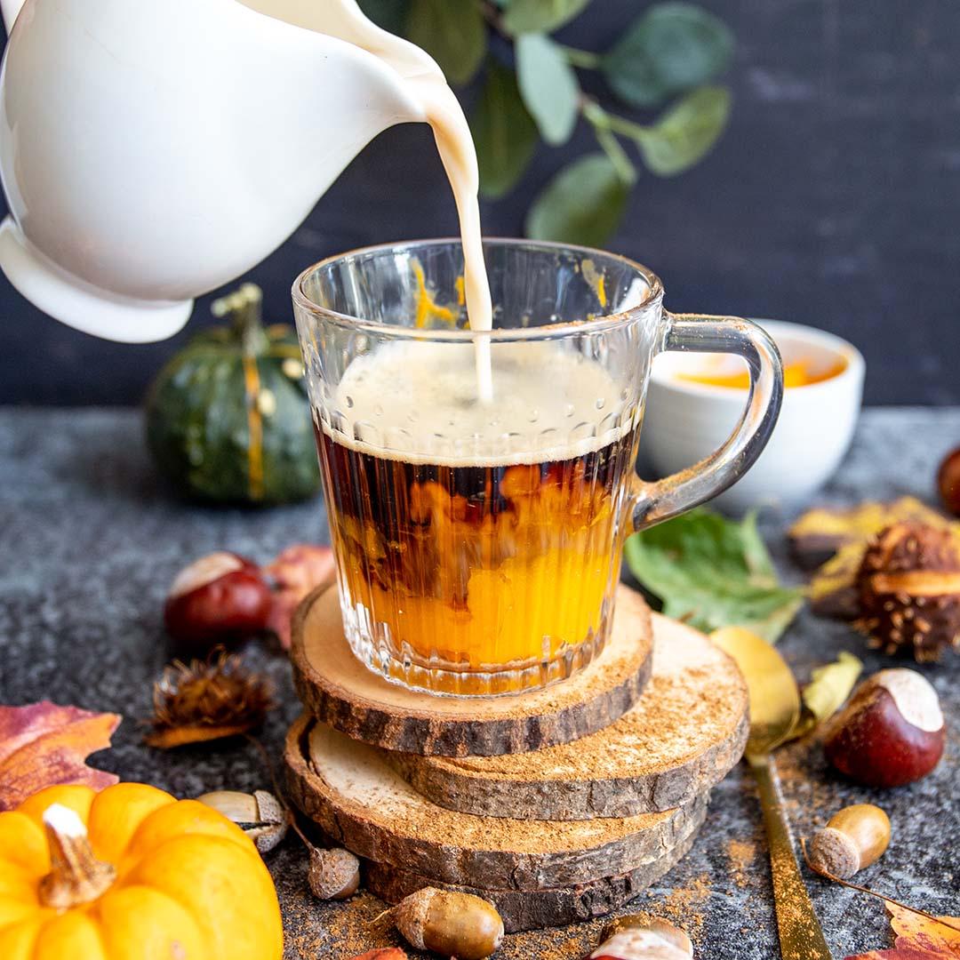 Low-Carb & Keto Pumpkin Spice Latte