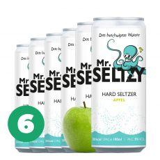 6er Set Spritziger Apfelwein   Zuckerfreier Hard Seltzer