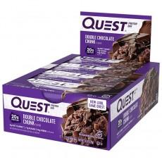 Double Chocolate Chunk Proteinriegel | MAXIPACK mit 12 Stück