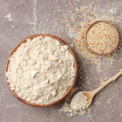 Glutenfrei-Sesam-Mehl-Low-Carb-keto