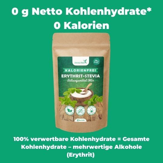 Erythrit Stevia Mix simply keto Low Carb