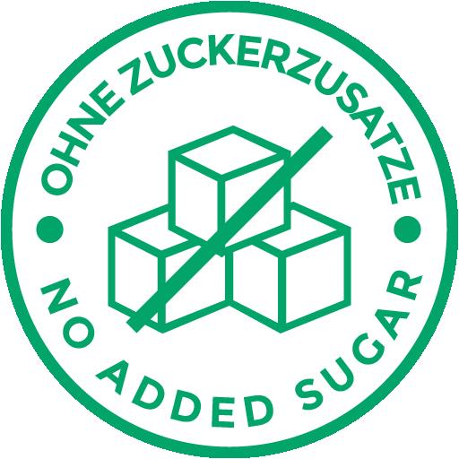 Ohne Zuckerzusatz
