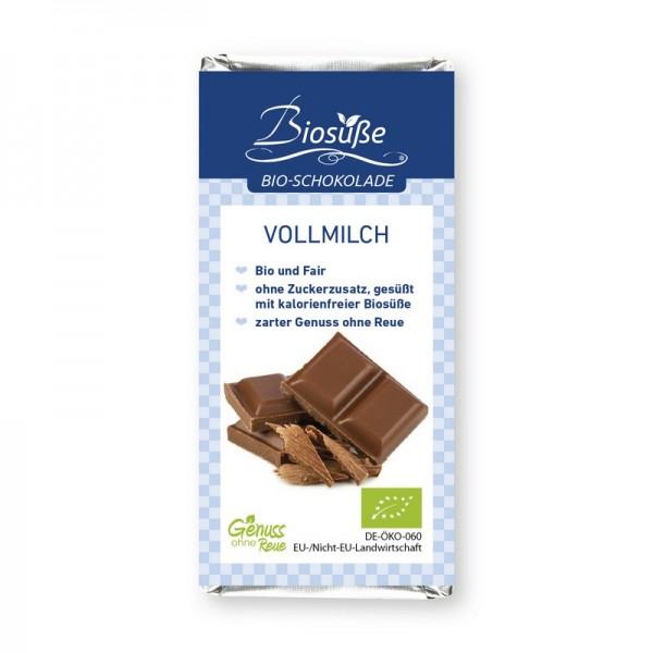 Bio-Schokolade   Vollmilch