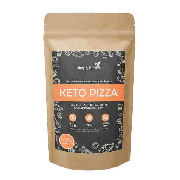 Keto Pizza Backmischung