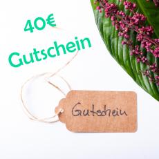 Gutschein für 40€