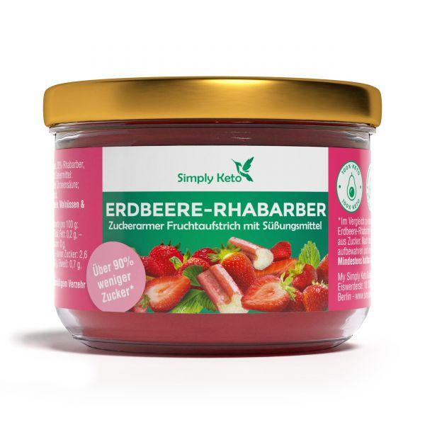 Rhabarber Erdbeer Fruchtaufstrich 230g