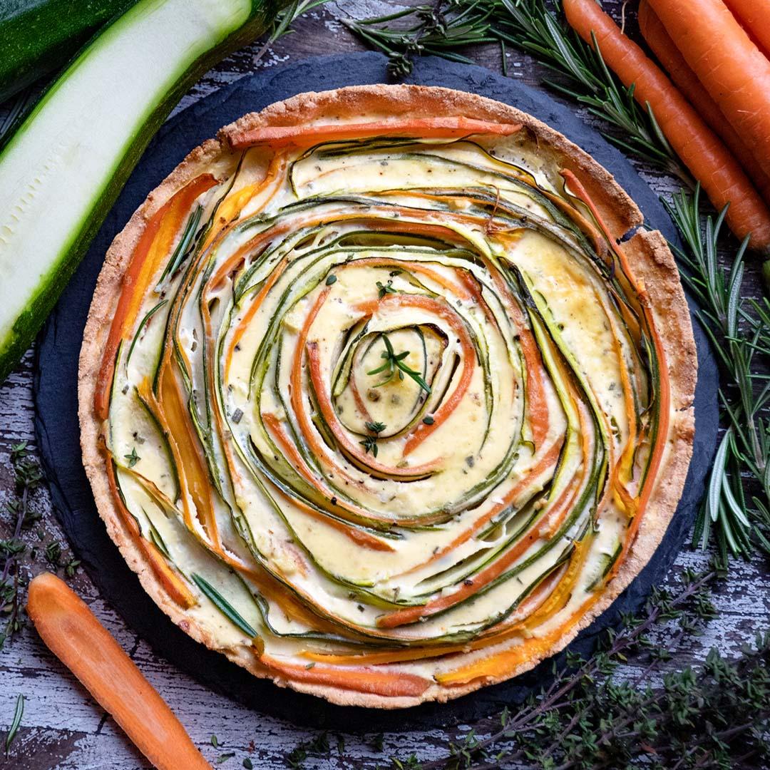 Low-Carb & Keto Gemüse-Quiche