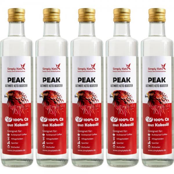 Peak C8-Öl 5x 500ml | VORTEILSPACK