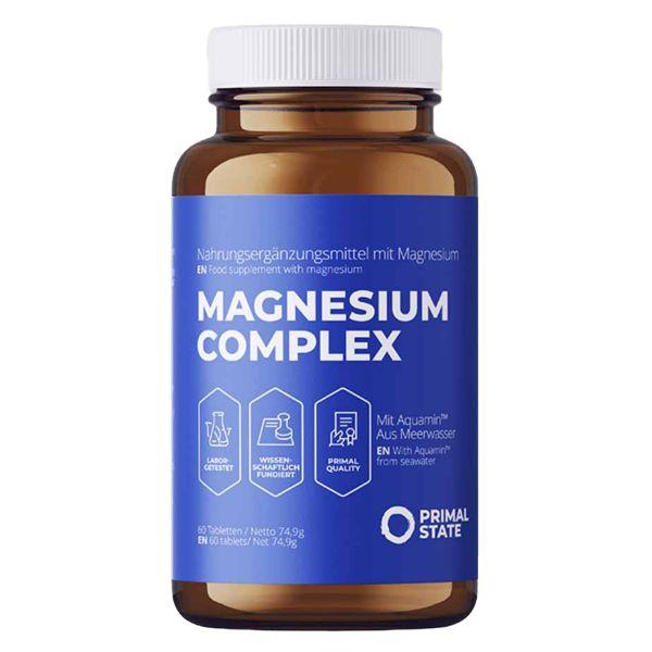 Magnesium PRIMAL MAG pur & organisch   60 Kapseln