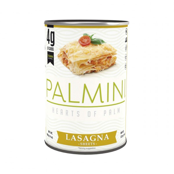 Lasagne Blätter aus Palmenherzen