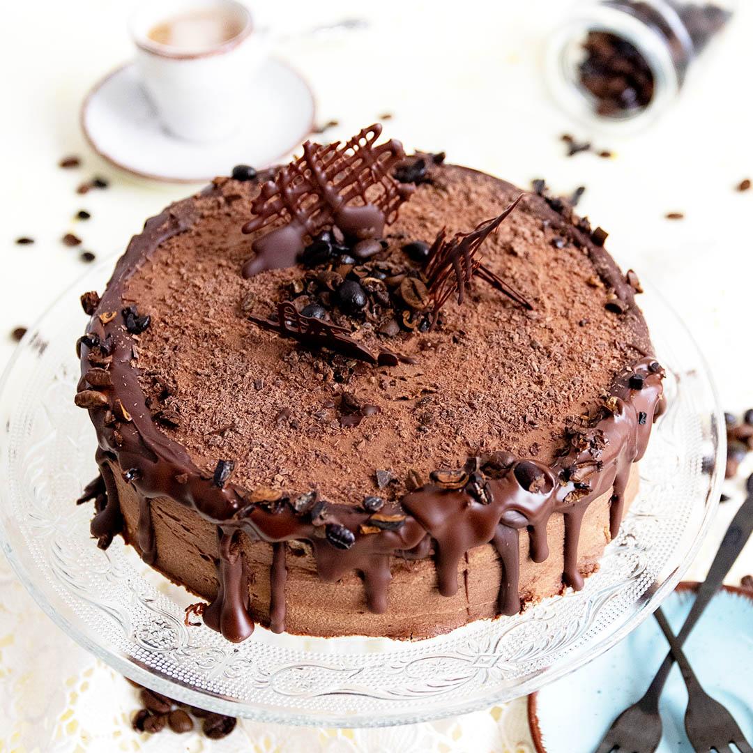 Low-Carb & Keto Mokka Torte