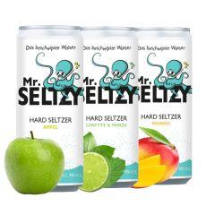 3er Probierpack Spritziger Apfelwein | Zuckerfreier Hard Seltzer