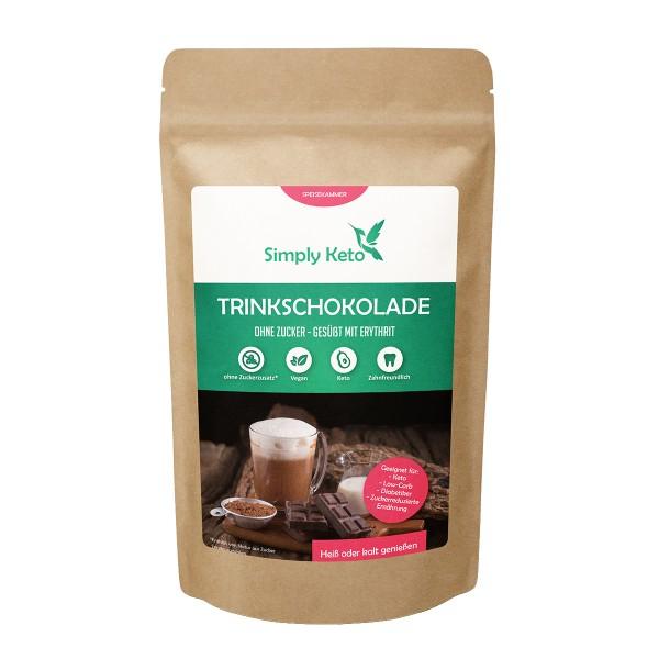 Trinkschokolade Erythrit 700g | Vorratspack