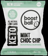 Mint Choc Chip Keto Balls