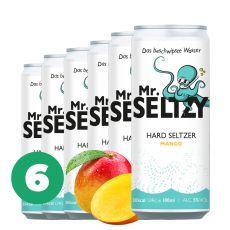 6er Set Mango   Spritziger Apfelwein   Zuckerfreier Hard Seltzer