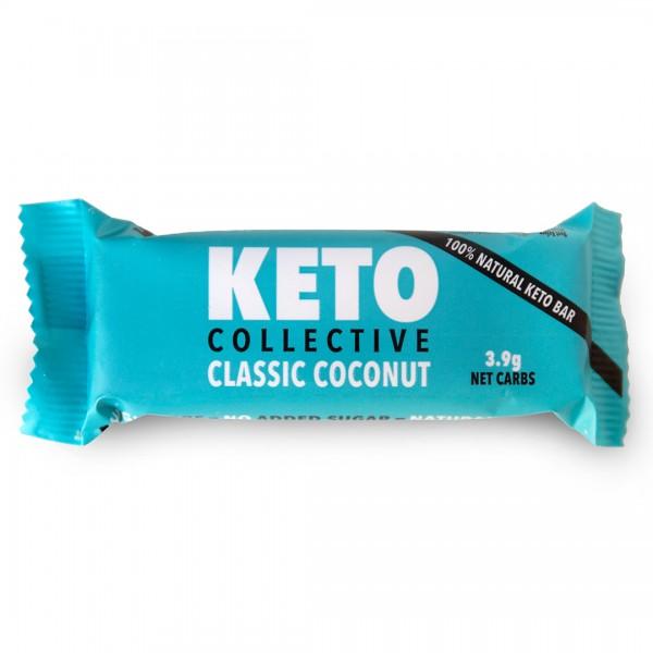 Classic Coconut Riegel mit Cashews und Kokos