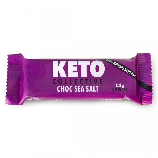 Choc Sea Salt Riegel mit Erdnüssen und Kakao (8,4 %)